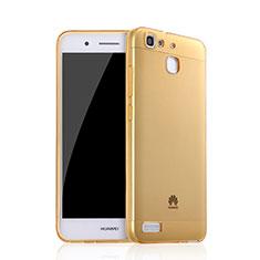 Coque Ultra Slim TPU Souple Transparente pour Huawei P8 Lite Smart Or