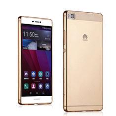 Coque Ultra Slim TPU Souple Transparente pour Huawei P8 Or