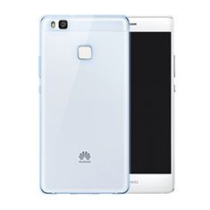 Coque Ultra Slim TPU Souple Transparente pour Huawei P9 Lite Bleu