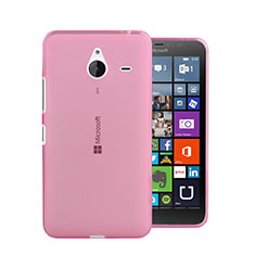 Coque Ultra Slim TPU Souple Transparente pour Microsoft Lumia 640 XL Lte Rose