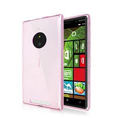 Coque Ultra Slim TPU Souple Transparente pour Nokia Lumia 830 Rose