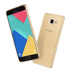 Coque Ultra Slim TPU Souple Transparente pour Samsung Galaxy A5 (2016) SM-A510F Or
