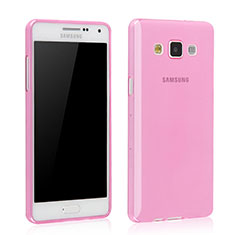 Coque Ultra Slim TPU Souple Transparente pour Samsung Galaxy Grand 3 G7200 Rose