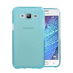Coque Ultra Slim TPU Souple Transparente pour Samsung Galaxy J5 SM-J500F Bleu Ciel