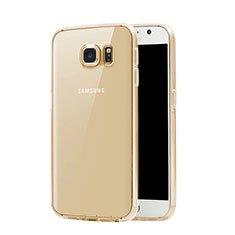 Coque Ultra Slim TPU Souple Transparente pour Samsung Galaxy S7 G930F G930FD Or