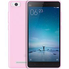Coque Ultra Slim TPU Souple Transparente pour Xiaomi Mi 4C Rose