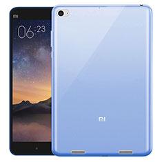 Coque Ultra Slim TPU Souple Transparente pour Xiaomi Mi Pad 3 Bleu