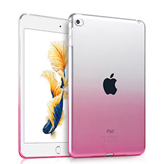 Coque Ultra Slim Transparente Souple Degrade pour Apple iPad Air 2 Rose