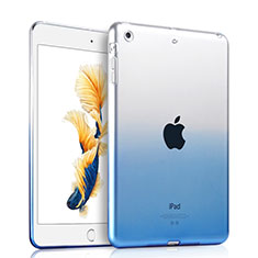 Coque Ultra Slim Transparente Souple Degrade pour Apple iPad Air Bleu