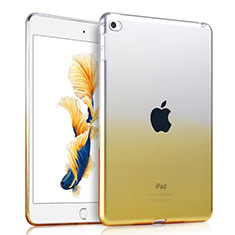 Coque Ultra Slim Transparente Souple Degrade pour Apple iPad Mini 4 Jaune