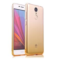 Coque Ultra Slim Transparente Souple Degrade pour Huawei Enjoy 6 Jaune