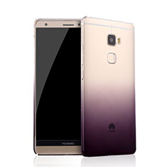 Coque Ultra Slim Transparente Souple Degrade pour Huawei Mate S Violet