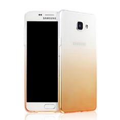 Coque Ultra Slim Transparente Souple Degrade pour Samsung Galaxy A7 (2016) A7100 Jaune