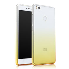 Coque Ultra Slim Transparente Souple Degrade pour Xiaomi Mi 4S Jaune