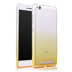 Coque Ultra Slim Transparente Souple Degrade pour Xiaomi Redmi 3 Jaune