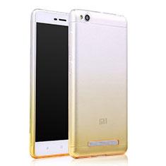 Coque Ultra Slim Transparente Souple Degrade pour Xiaomi Redmi 4A Jaune