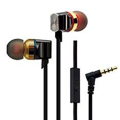 Ecouteur Casque Filaire Sport Stereo Intra-auriculaire Oreillette H02 pour Huawei MediaPad M5 8.4 SHT-AL09 SHT-W09 Or