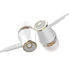 Ecouteur Casque Filaire Sport Stereo Intra-auriculaire Oreillette H06 pour Huawei MediaPad M5 8.4 SHT-AL09 SHT-W09 Or