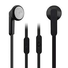 Ecouteur Casque Filaire Sport Stereo Intra-auriculaire Oreillette H08 pour Huawei MediaPad M5 8.4 SHT-AL09 SHT-W09 Noir