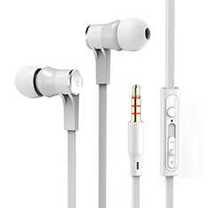 Ecouteur Casque Filaire Sport Stereo Intra-auriculaire Oreillette H12 pour Huawei MediaPad M5 8.4 SHT-AL09 SHT-W09 Blanc