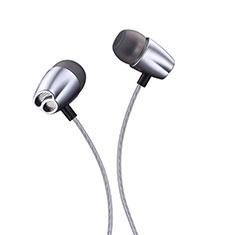 Ecouteur Casque Filaire Sport Stereo Intra-auriculaire Oreillette H26 pour Huawei MediaPad M5 8.4 SHT-AL09 SHT-W09 Gris