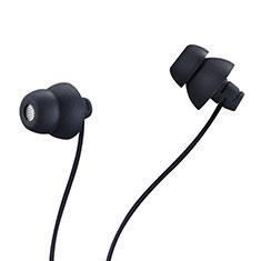Ecouteur Casque Filaire Sport Stereo Intra-auriculaire Oreillette H27 pour Apple iPad Mini 5 2019 Noir