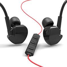 Ecouteur Casque Filaire Sport Stereo Intra-auriculaire Oreillette H36 pour Huawei Mate 30 Noir