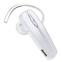 Ecouteur Casque Sport Bluetooth Stereo Intra-auriculaire Sans fil Oreillette H39 pour Huawei Honor Magic 2 Blanc