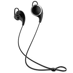 Ecouteur Casque Sport Bluetooth Stereo Intra-auriculaire Sans fil Oreillette H42 pour Wiko Barry Noir