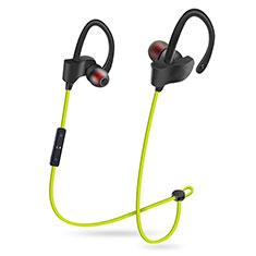 Ecouteur Casque Sport Bluetooth Stereo Intra-auriculaire Sans fil Oreillette H48 pour Apple iPad Mini 5 2019 Vert