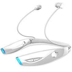 Ecouteur Casque Sport Bluetooth Stereo Intra-auriculaire Sans fil Oreillette H52 pour Huawei Honor Magic 2 Blanc