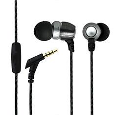 Ecouteur Filaire Sport Stereo Casque Intra-auriculaire Oreillette H01 pour Huawei MediaPad M5 8.4 SHT-AL09 SHT-W09 Noir