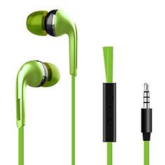 Ecouteur Filaire Sport Stereo Casque Intra-auriculaire Oreillette H03 pour Huawei MediaPad M5 8.4 SHT-AL09 SHT-W09 Vert