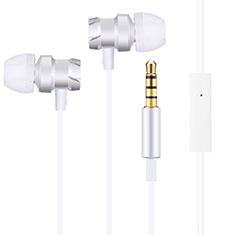 Ecouteur Filaire Sport Stereo Casque Intra-auriculaire Oreillette H10 pour Huawei MediaPad M5 8.4 SHT-AL09 SHT-W09 Blanc