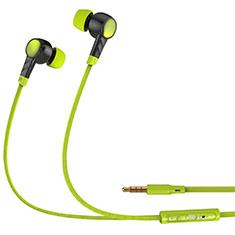Ecouteur Filaire Sport Stereo Casque Intra-auriculaire Oreillette H11 pour Huawei MediaPad M5 8.4 SHT-AL09 SHT-W09 Vert