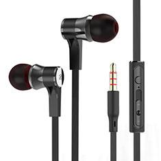 Ecouteur Filaire Sport Stereo Casque Intra-auriculaire Oreillette H12 pour Huawei MediaPad M5 8.4 SHT-AL09 SHT-W09 Noir