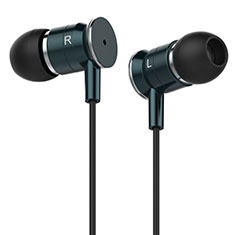 Ecouteur Filaire Sport Stereo Casque Intra-auriculaire Oreillette H15 pour Huawei MediaPad M5 8.4 SHT-AL09 SHT-W09 Vert