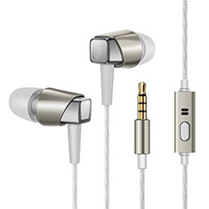 Ecouteur Filaire Sport Stereo Casque Intra-auriculaire Oreillette H19 pour Wiko Seri Wiko Or