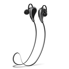 Ecouteur Sport Bluetooth Stereo Casque Intra-auriculaire Sans fil Oreillette H41 pour Apple MacBook Air 13 Gris