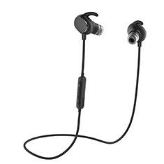 Ecouteur Sport Bluetooth Stereo Casque Intra-auriculaire Sans fil Oreillette H43 pour Apple iPad Mini 5 2019 Noir