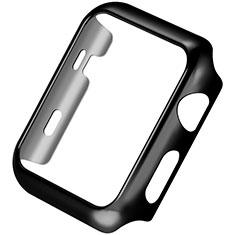 Etui Bumper Luxe Aluminum Metal C03 pour Apple iWatch 3 42mm Noir