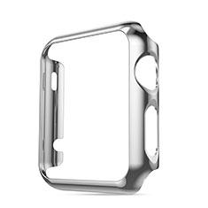 Etui Bumper Luxe Aluminum Metal pour Apple iWatch 3 42mm Argent