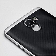 Etui Bumper Luxe Aluminum Metal pour Huawei Honor 7 Dual SIM Noir