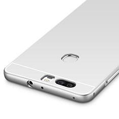 Etui Bumper Luxe Aluminum Metal pour Huawei Honor V8 Argent