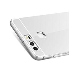 Etui Bumper Luxe Aluminum Metal pour Huawei P9 Plus Argent