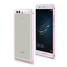 Etui Bumper Luxe Aluminum Metal pour Huawei P9 Plus Rose