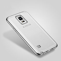 Etui Bumper Luxe Aluminum Metal pour Samsung Galaxy Note 4 SM-N910F Argent