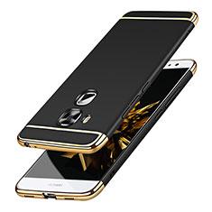 Etui Bumper Luxe Metal et Plastique M01 pour Huawei Nova Plus Noir