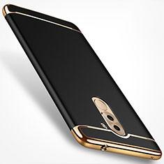 Etui Bumper Luxe Metal et Plastique M02 pour Huawei Honor 6X Pro Noir