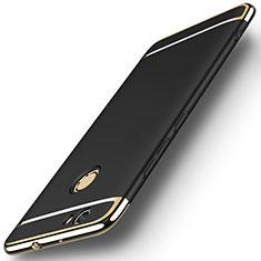 Etui Bumper Luxe Metal et Plastique M02 pour Huawei Nova Noir